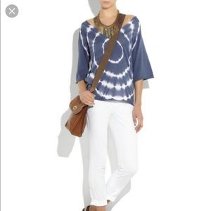 Tory Burch Edie Tie Dye Top
